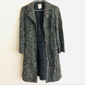 Nanette Lepore Vintage Wool Blend Trench Coat